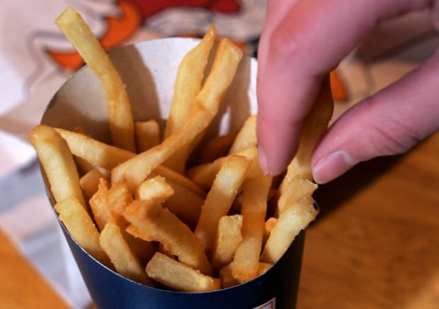 Trans Fat States french fries