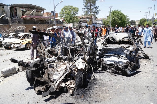 AFGHANISTAN SUICIDE BOMB ATTACK