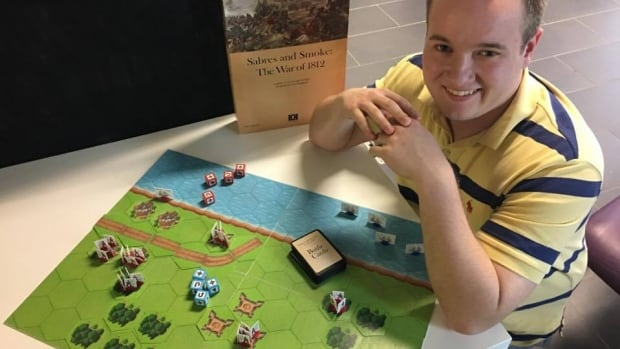 An 18-year-old innovator is gearing up to pitch an educational war game to the Thames Valley and Toronto District School Board curriculum.