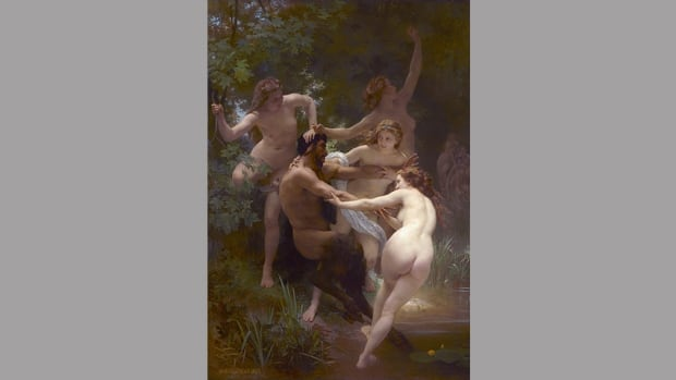 Afternoon of the Faun - Nymphs and Satyr