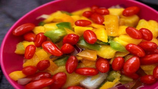 Goji-Mango Salsa