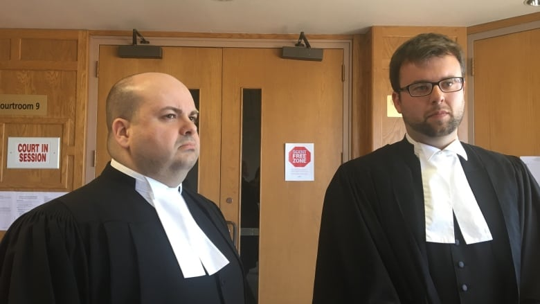 Crown attorney's Shane Russell and Peter Harrison