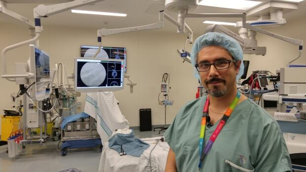 "'This system allows us to understand better what's happening to the anatomy,"" surgeon Dr. Marc Tewfik says about augmented reality technology."