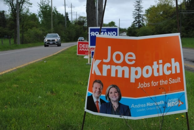 Sault Ste. Marie byelection signs