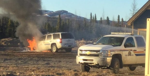 RCMP vehicle fire Natuashish