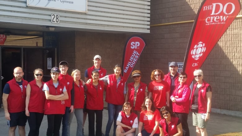 Best cheering squad in town: CBC Do Crew at MS Walk of Hope
