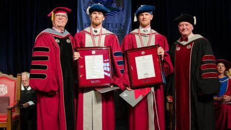 Sedins-Kwantlen-Graduation