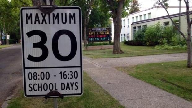 Regina committee members found examples of 30 km/h school zones in Edmonton, Calgary and Saskatoon.