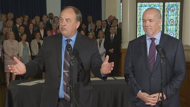 The deal between BC NDP leader John Horgan and Green leader Andrew Weaver could mean a referendum on proportional representation in British Columbia next year.