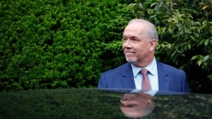 John Horgan discusses softwood with Trump trade officials in Washington, D.C.