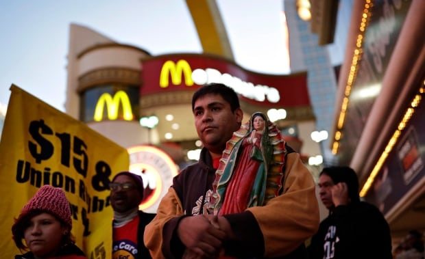 Minimum Wage Rallies Las Vegas