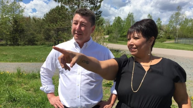 Chief Paul Prosper and Rose Paul, Paqtnkek's director of economic development, have been working to make the highway interchange project a reality for years.