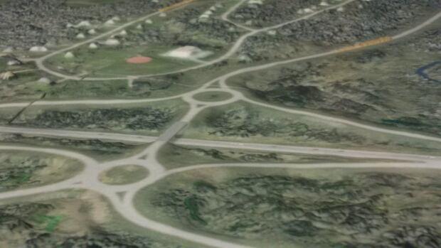 Highway interchange project