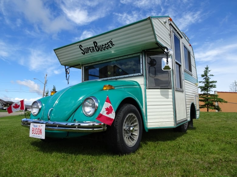 Part Volkswagen, part camper, Super Bugger turns heads on