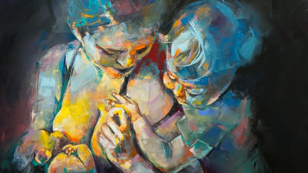 Artists Fight Stigma At Breastfeeding Art Expo In Kelowna -1156