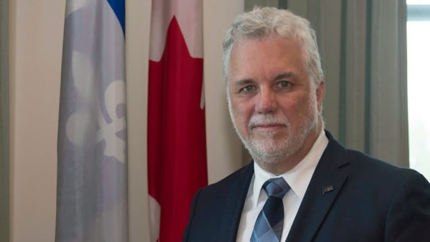 Premier Philippe Couillard says the time is right to reopen the constitutional debate in the hopes of having Quebec's distinct character officially recognized.