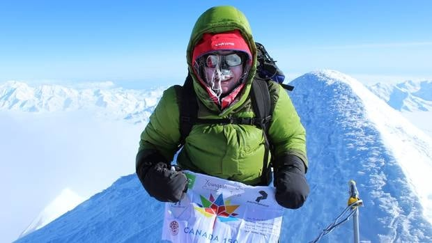 B.C teen becomes youngest person to reach Canada's highest peak.
