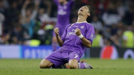 Ronaldo Soccer Champions League Final