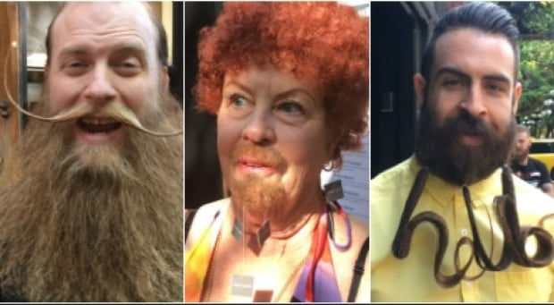 Vancouver Facial Hair Club competition