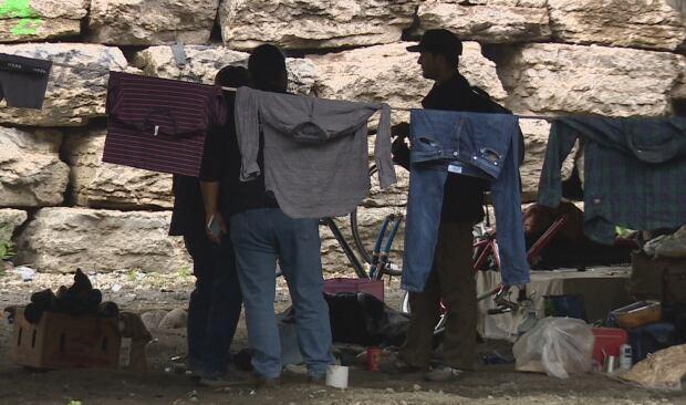 Gardiner homeless