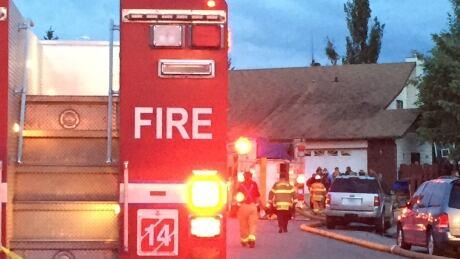 17808 93rd Street fire Edmonton