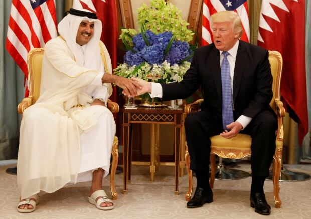 After taking aim at Qatar, Trump urges Arab unity