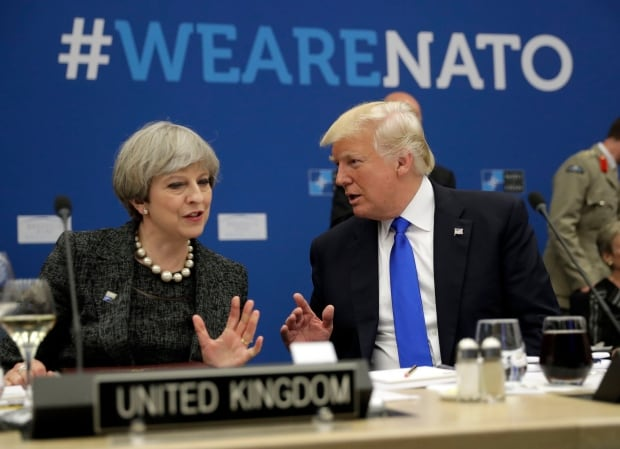 Theresa May finally scolds Donald Trump over Sadiq Khan criticism