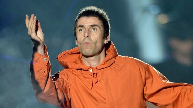 Ex-Oasis member and Manchester son Liam Gallagher performs at the One Love Manchester tribute concert on Sunday. He slammed his brother Noel for not showing up for the concert.