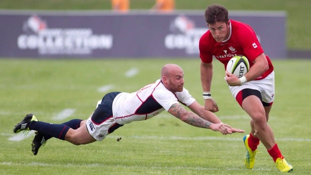 DTH Van der Merwe, right, along with Brett Beukeboom, not pictured, were named co-captains for Canada at the June rugby tests.