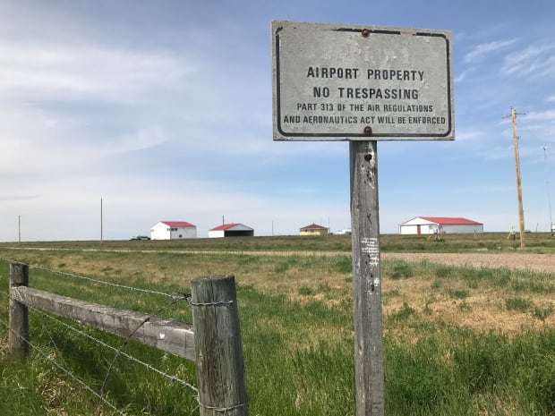 Foremost airport drones