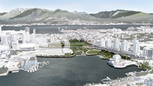 The City of Vancouver and the Park Board have released renderings of what the False Creek area could look like once the Georgia Viaduct is demolished and new construction finished.