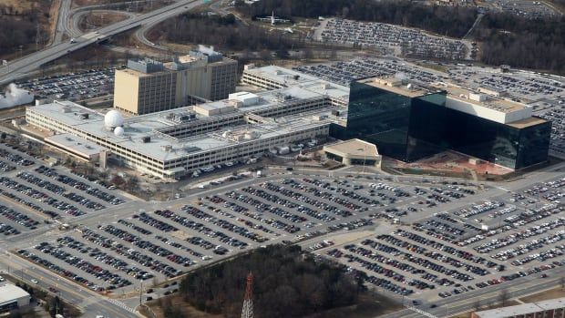 An aerial view of the National Security Agency (NSA) headquarters in Ft. Meade, Maryland. The Wall Street Journal is reporting another breach of classified data by a contractor, saying Russian government-backed hackers were involved.