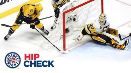 Hip Check: Predators' Gaudreau sneaks goal past Murray in Game 4