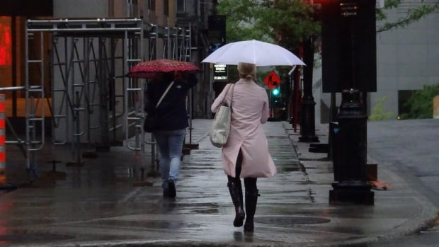 It's not just your imagination; it has rained a lot in the last 24 hours or so. According to Environment Canada, 50 to 60 millimetres of rain has fallen in the Montreal area since Monday.