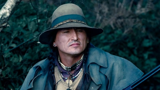 Eugene Brave Rock stars as Chief in the action-adventure movie Wonder Woman.