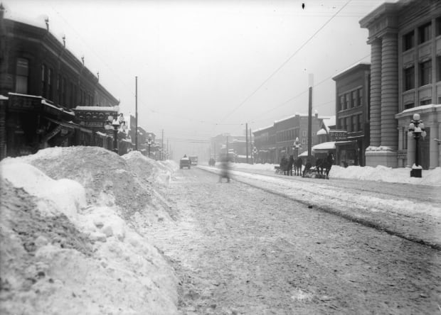 1916 record vancouer snow