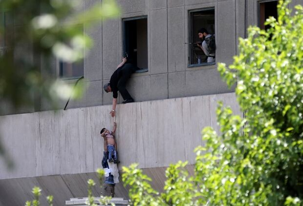 Deadly Twin Attacks Hit Iranian Parliament, Ayatollah's Shrine