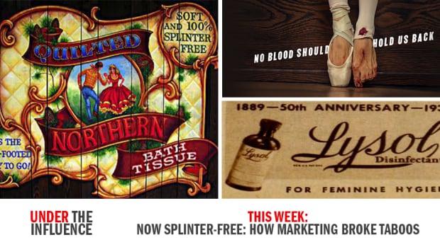 Now Splinter Free: How Marketing Broke Taboos | CBC Radio