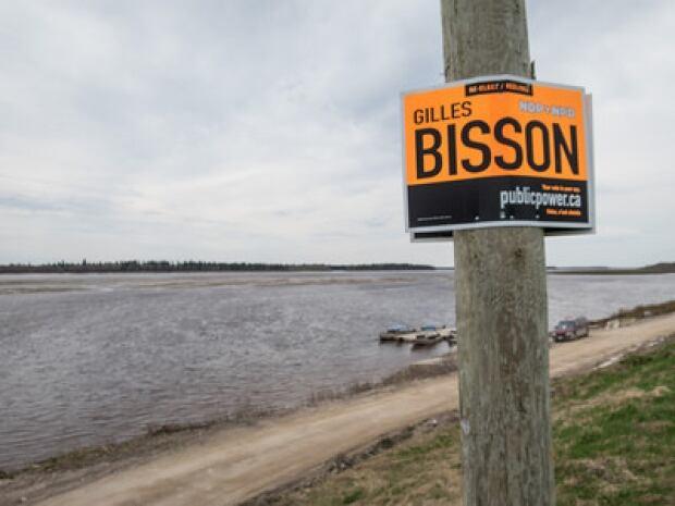 election sign Moosonee