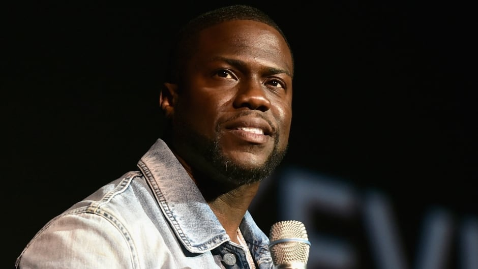 Actor Kevin Hart speaks onstage during CinemaCon 2016 in Las Vegas, Nevada.  His new book is entitled I Can't Make This Up: Life Lessons