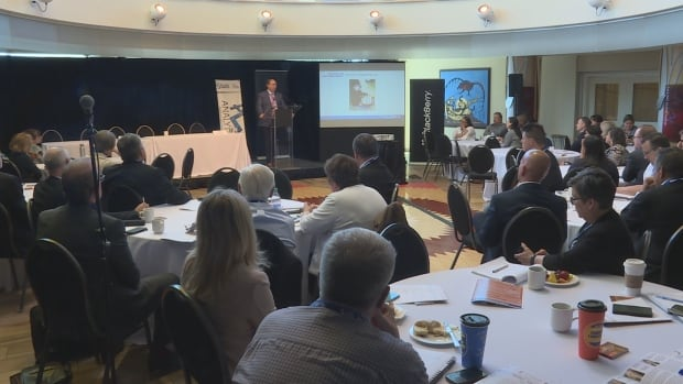 The Indigenous Controlled Technology Forum brought together tech companies and Indigenous leaders at Ottawa's Wabano Centre for Aboriginal Health.