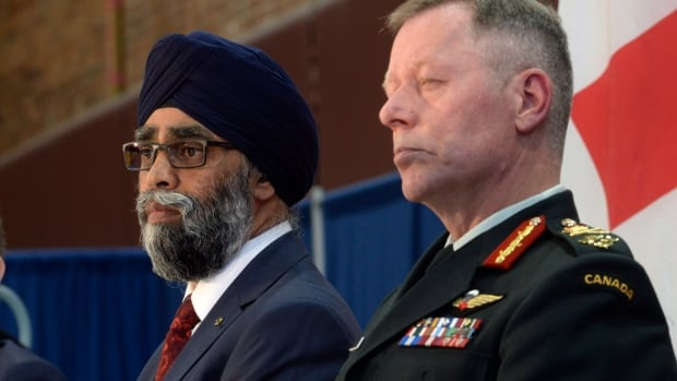 Defence Minister Harjit Sajjan unveiled the Liberal government's long-awaited vision for expanding the Canadian Armed Forces in Ottawa on June 7.