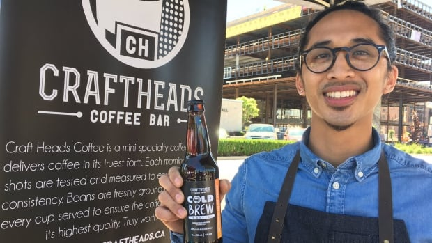 Ron Roy from Craft Heads Brewing Company said he's expecting the Coffee Tour to bring more customers through his door to try everything from peanut butter chocolate coffee to a flat white or cappuccino.
