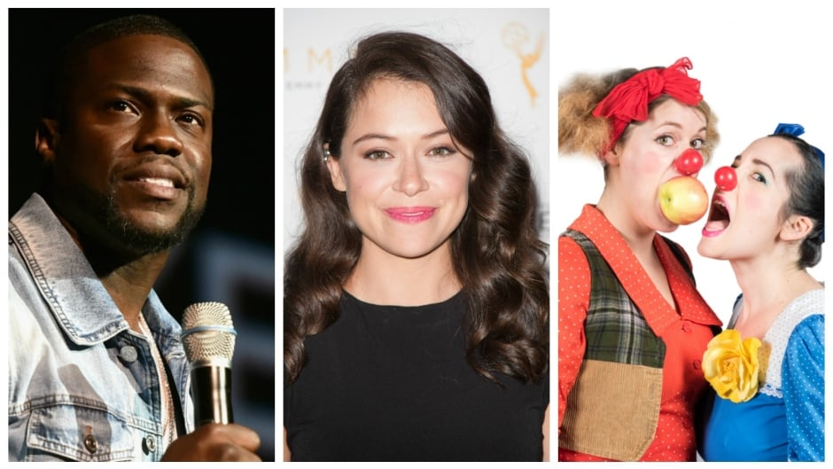 Kevin Hart, Tatiana Maslany and Moro and Jasp are featured on the June 8 episode of q.
