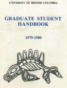 University of British Columbia Graduate Student handbook