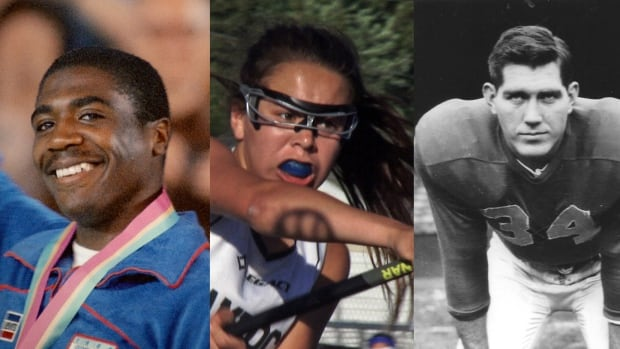 The Canadian Sport Film Festival is coming to Toronto June 9-11. Film stills from left: Crossing the Line, Keepers of the Game and Requiem for a Running Back.