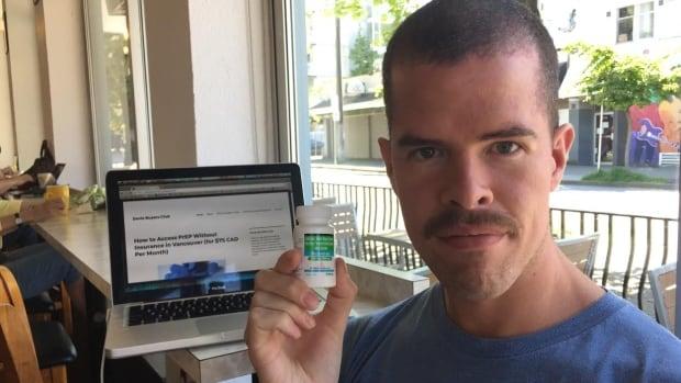 Matt Appleton, 33, uses the Davie Buyers Club to access a generic version of the anti-HIV drug Truvada.