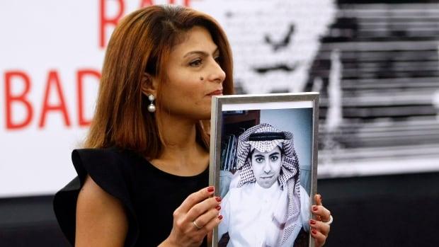 Ensaf Haidar, wife of blogger Raif Badawi, says she's hopeful he could be pardoned.