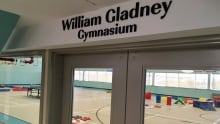 William Gladney gymnasium Paul Reynolds Community Centre