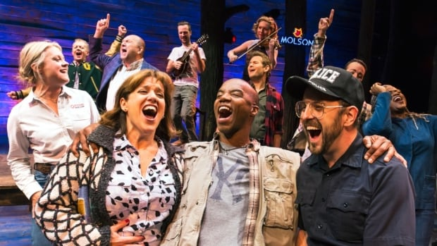 The cast of Come From Away has taken the show to many awards, from the Drama Desk and Outer Critics Circle, for example, but the Tonys are the pinnacle.
